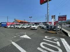 こちらが店舗です♪お車探し・自動車保険・買取etcお車に関わることならなんでもご相談ください★