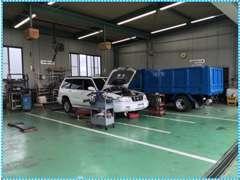 ■栃木県内の自動車整備工場で初めてISO認証を取得しております。品質管理には社を挙げて取り組んでおります。