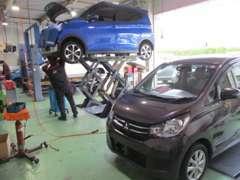 お車の販売時には、メンテナンスをしてからのお渡しになりますので、ご安心してお車にお乗り頂けます(^O^)/