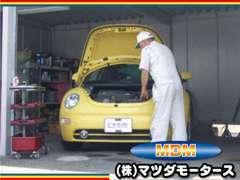 ☆納車前に、ベテランの1級整備士がしっかりチェックを行います。車検・修理などアフターフォローもお任せください。