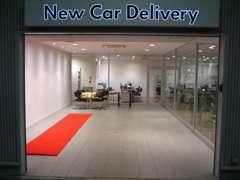 NewCarDelivery(ご納車ルーム)で新しいお車のご納車をさせて頂きます。