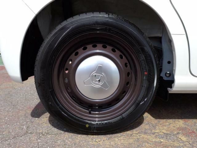 タイヤサイズ 155/65 14!