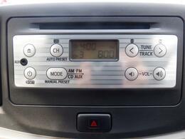 純正CDラジオつき