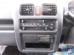 エアコン、ラジオ