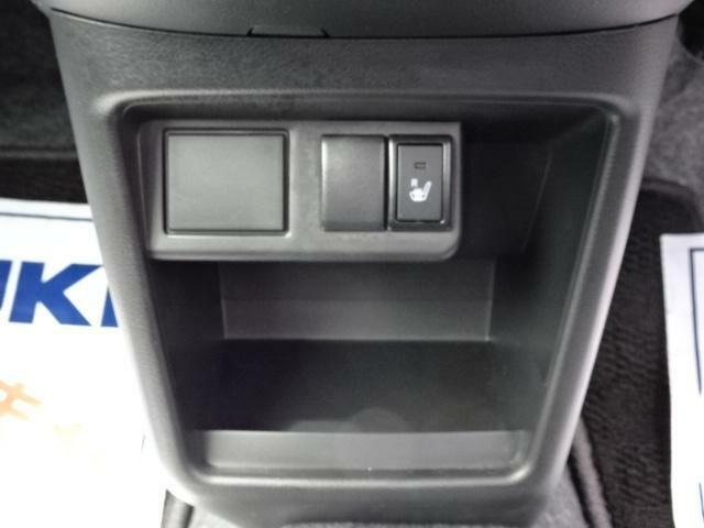 冬には嬉しい運転席のシートヒーターもあります。