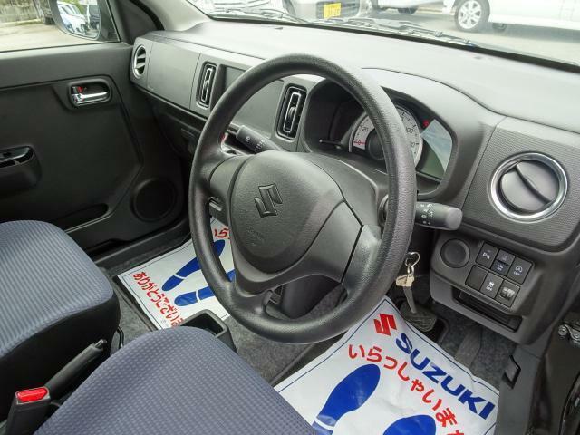 運転席も広々、乗り心地もgoodです!