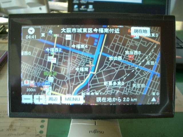 Bプラン画像:当社指定ポーターブルナビ付ワンセグテレビも視聴できます!!