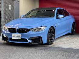 BMW M4クーペ M DCT ドライブロジック アダプティブMサス OP19インチ 黒革