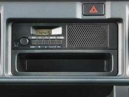 純正ラジオ付