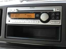 N-ONEに付いているオーディオはギャザズCDチューナー(CX-128C)が装着されています。CDプレーヤー・AM/FMチューナー付です。お好みの音楽を聞きながらのドライブは楽しさ倍増ですね!