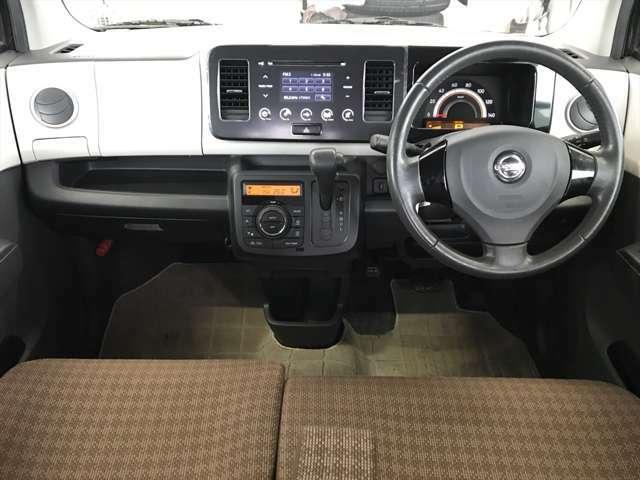 内装もキレイなので気持ち良く運転できます。