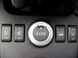 【ALL MODE 4×4】 アクセルを踏むと同時に、各種センサーの情報から、4WD コンピューターが走行状態を判断。前輪が滑り出す瞬間に、瞬時に先回りして後輪へトルクを伝える電子制御4WDシステム