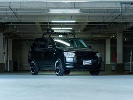 トヨタ サクシードバン 1.5 UL-X UL リフトアップ ルーフキャリア MDタイヤ