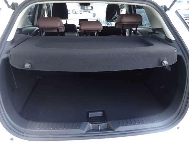 トノカバー、荷室の収納物を車外の視線から保護するトノカバー。
