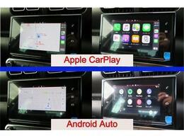 AppleCarPlay・AndroidAuto付き♪ナビにお持ちのスマートフォンを接続するとナビ画面でアプリの操作や表示を行えるようになります。ナビ・ミュージック・電話などのアプリが使用できます♪