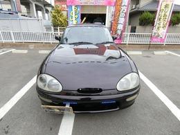 ご存じオープンカーターボ車5MTという現代では希少な車です豪華な装備車高調BBSアルミ外品マフラーHIDナビTV黒革