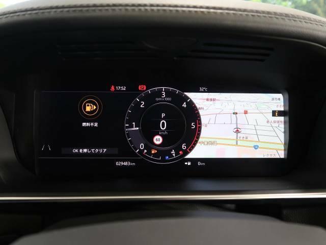 ●TFTメーター付きで目線をナビゲーションまで移動せず少し下へ向ければ地図情報も確認いただけます。メーターもデジタルになり近代的なメーターになっています。●