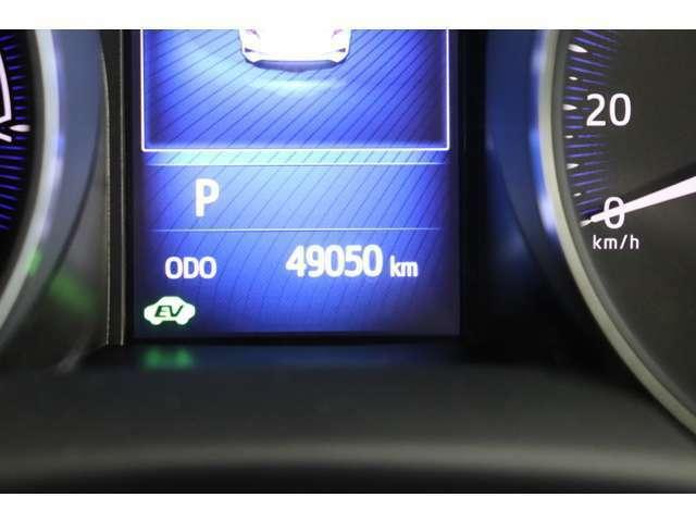 走行距離50,000キロ。これからまだまだ大活躍のお車です!