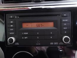 CD・ラジオ・AUXが聴ける純正オーディオ