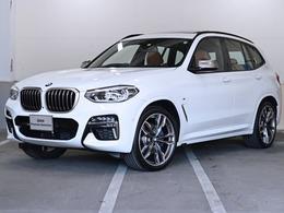 BMW X3 M40d ディーゼルターボ 4WD セレクトP 新型ナビ 茶革 21インチAW