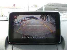 バックカメラ付!ガイドラインも表示して安全に駐車できるようサポート!安全確認にも使えますね☆