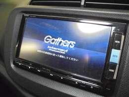【Gathersインターナビ/VXM-152VFi】装着!!☆フルセグTV視聴可能☆ミュージックサーバー(SD)☆Bluetooth接続☆DVD/CD再生機能付です。