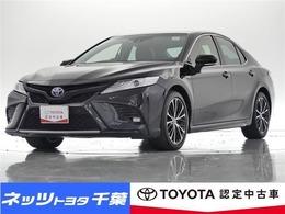トヨタ カムリ 2.5 WS レザーパッケージ ペダル踏み間違い時加速抑制装置