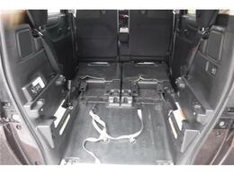 車いすが一台すっぽり収まるスペースがあります。