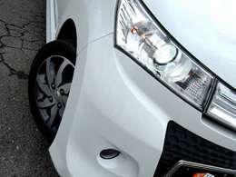 HIDヘッド&フォグライト付きで夜間の運転を明るくサポートしてくれます!