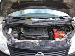 安心のタイミングベルトチェーン式で燃費もバッチリ経済車!