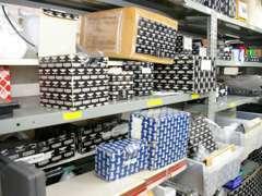 使用頻度の高いパーツは在庫も豊富。緊急修理もOK!
