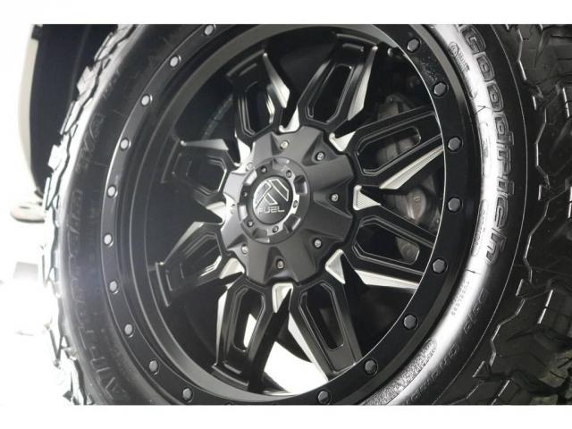 新品FUEL20インチホイール&新品BFグッドリッチATタイヤを装着致しました!