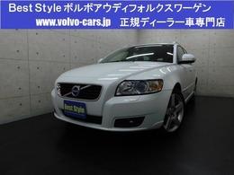 ボルボ V50 2.0 クラシック 2012最終/黒革/サンR/純HDD/ETC/1オナ/保証
