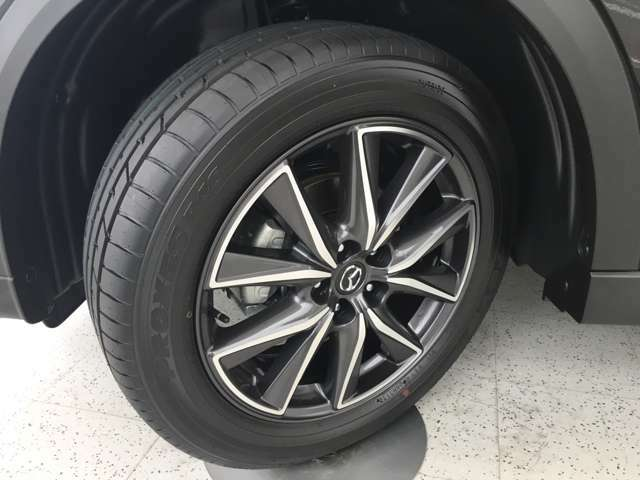 純正19インチアルミホイール付夏タイヤ♪タイヤサイズは225/55 R19♪トーヨーのPROXES♪