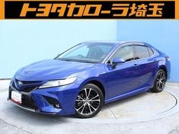 トヨタ カムリ 2.5 WS レザーパッケージ 本革・ワンオーナー・フルセグTV