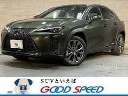 レクサス UX 250h Fスポーツ 4WD 純正ナビTV パノラミックビュー 白革 三眼