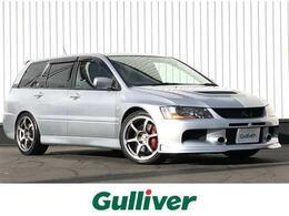 三菱 ランサーエボリューションワゴン 2.0 GT-A MR 4WD RECAROシート/BILSTEIN車高調/ADVAN18AW