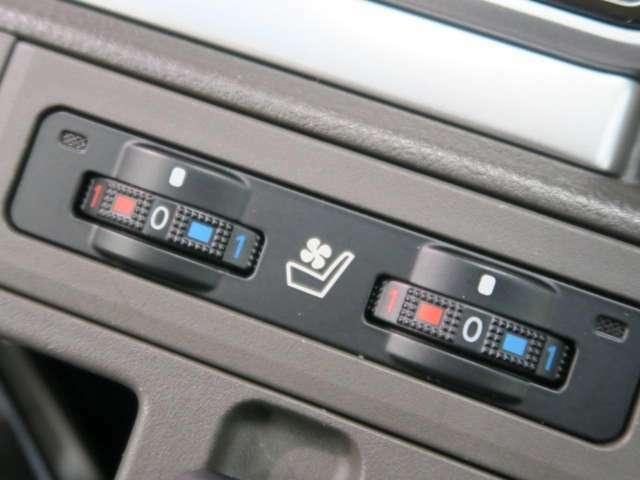 ●【シートヒーター&ベンチレーションシート】温度調整ができ即温性に優れた温熱機能とエアコンの送風機能付きで暑い夏でも快適な移動が可能です!高級車の証♪