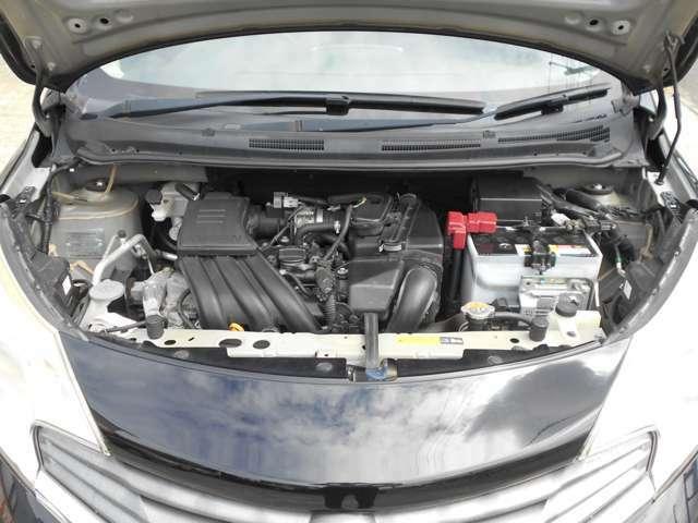 タイミングチェーンベルト採用エンジン!ご希望にてエンジンクリーニングも承っております!!