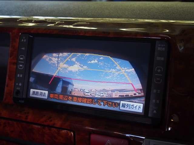 大きな車両でもBカメラがあると安心です☆車両サイズ長さ484cm×幅188cm×高さ221cm☆