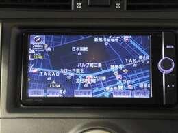 ☆ナビ☆フルセグナビなので車中でも高画質で見たい番組を見ることができます!