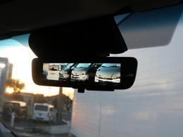車両後方カメラの映像をバックミラーに表示できるデジタルインナーミラー!