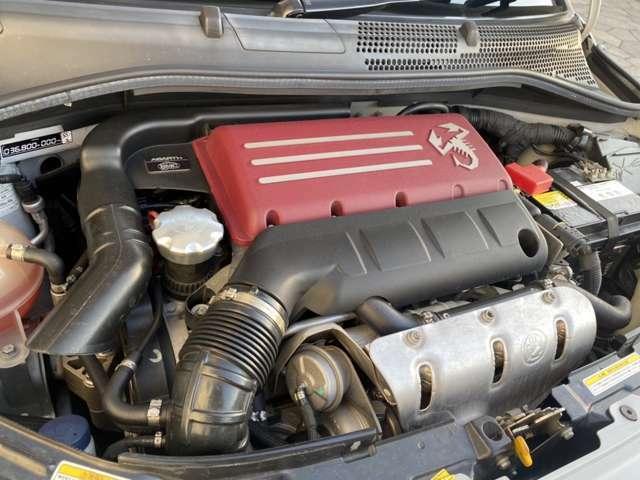 1.4リッターのエンジンです。