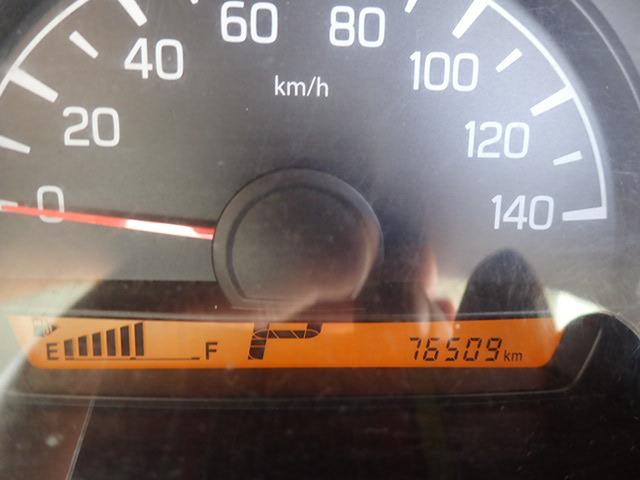 走行7.7万kmと少なく、まだまだ使っていただけるかと思います。