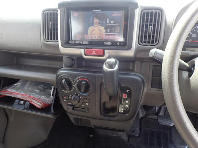 スズキエブリイOEM車ですので、スズキで整備や修理を受けていただけます。メモリーナビ/テレビ、ETCが装備されております。