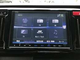 フルセグTVの視聴やDVDの鑑賞、音楽録音機能、Bluetooth再生など多機能な高性能インターナビです!