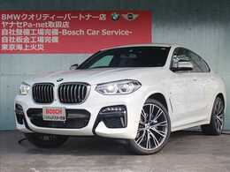 BMW X4 M40i 4WD オプション21インチアルミ パノラマルーフ