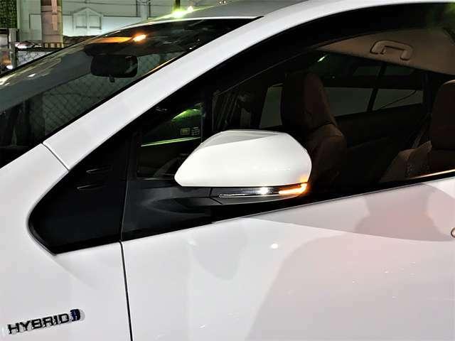 オート電動格納式・LEDサイドターンランプドアミラー!