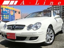 メルセデス・ベンツ CLKクラスカブリオレ CLK350カブリオレ 全国6ヶ月保証!後期型・電動カブリオレ