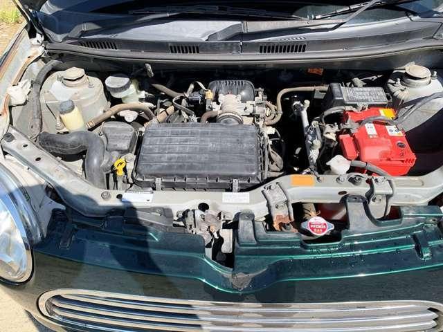 エンジン機関もチェック済みで状態良好です。